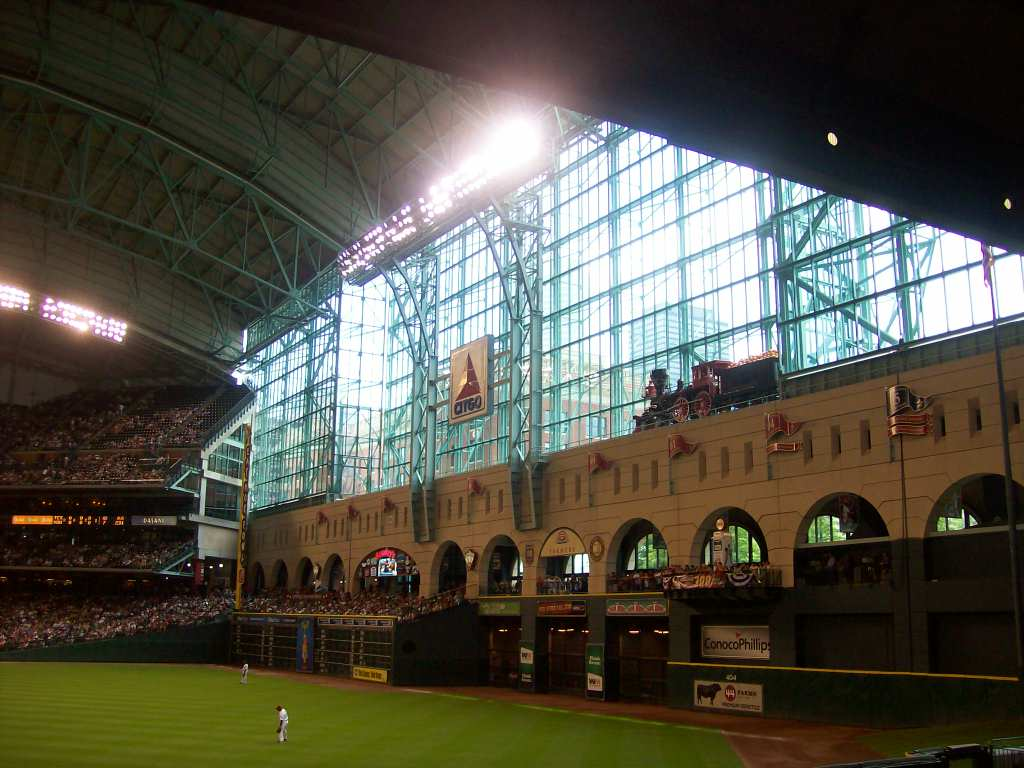 Minute Maid Park Texas Baseball Fan